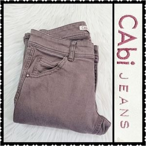 Cabi size 6 bootcut brown low rise casual jeans